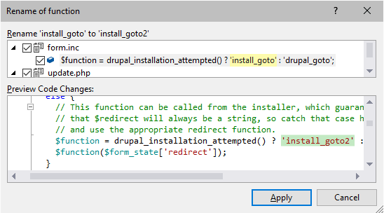 Características   PHP Tools for Visual Studio